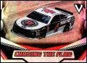 2018 Panini Victory Lane Chasing the Flag Racing C3 Kevin Harvick Jimmy John's/Stewart-Haas Racing/Ford  Official NASCAR Trading Card