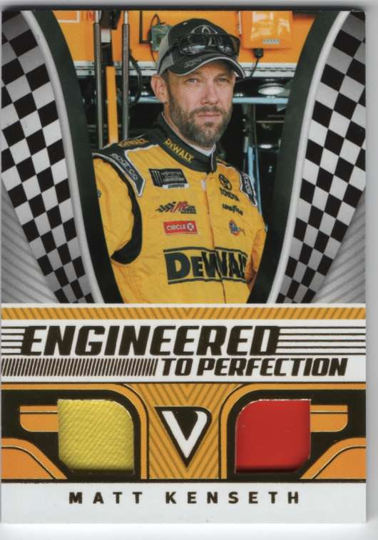 2018 Panini Victory Lane Engineered to Perfection Gold