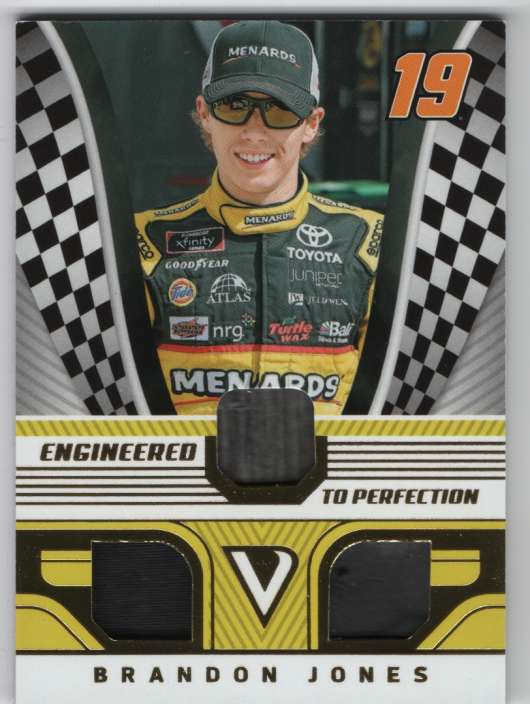 2018 Panini Victory Lane Engineered to Perfection Triple Materials Gold
