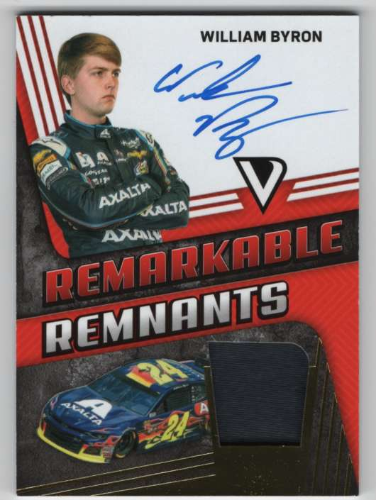 2018 Panini Victory Lane Remarkable Remnants Gold