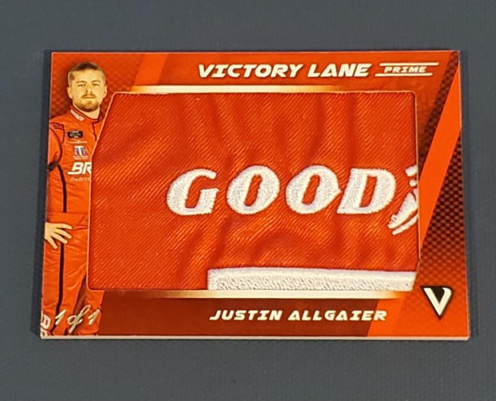 2018 Panini Victory Lane Victory Lane Prime Patches Goodyear