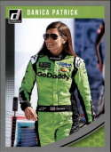 2019 Donruss Racing Silver Parallel #39 Danica Patrick GoDaddy.com/Premium Motorsports/Chevrolet  Official NASCAR Trading Card