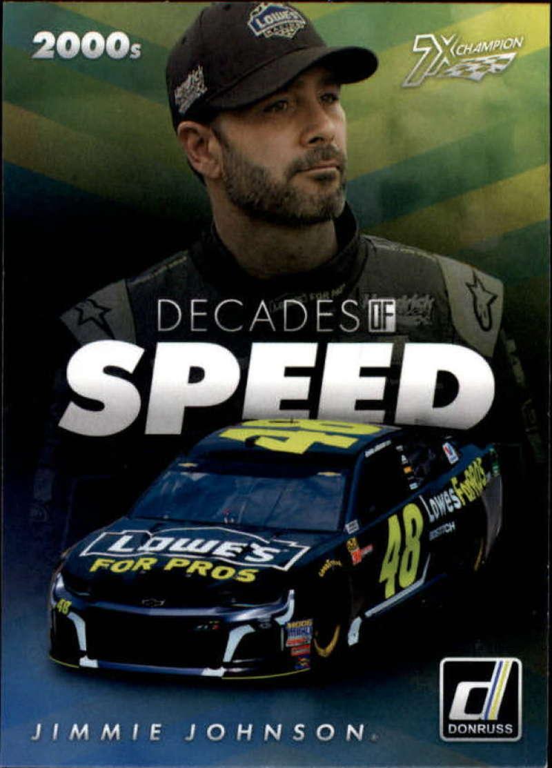 2019 Donruss  Decades of Speed