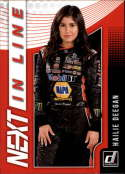 2019 Donruss Racing NEXT in Line #1 Hailie Deegan NASCAR NEXT  Official NASCAR Trading Card