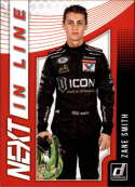 2019 Donruss Racing NEXT in Line #4 Zane Smith NASCAR NEXT  Official NASCAR Trading Card