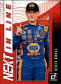 2019 Donruss Racing NEXT in Line #6 Derek Kraus NASCAR NEXT  Official NASCAR Trading Card