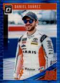 2019 Donruss Racing Optic Blue Pulsar #31 Daniel Suarez ARRIS/Joe Gibbs Racing/Toyota  Official NASCAR Retail Exclusive Parallel Trading Card