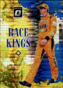 2019 Donruss Racing Optic Blue Pulsar #5 Kyle Busch M&M's/Joe Gibbs Racing/Toyota Race Kings  Official NASCAR Retail Exclusive Parallel Trading Card