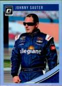 2019 Donruss Racing Optic Holo Parallel #46 Johnny Sauter Allegiant Travel/GMS Racing/Chevrolet  Official NASCAR Trading Card by Panini