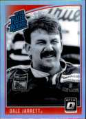2019 Donruss Racing Optic Holo Parallel #9 Dale Jarrett Coats & Clark Retro Rated Rookie  Official NASCAR Trading Card by Panini