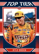 2019 Donruss Racing Top Tier #7 Kyle Busch M&M's/Joe Gibbs Racing/Toyota  Official NASCAR Trading Card