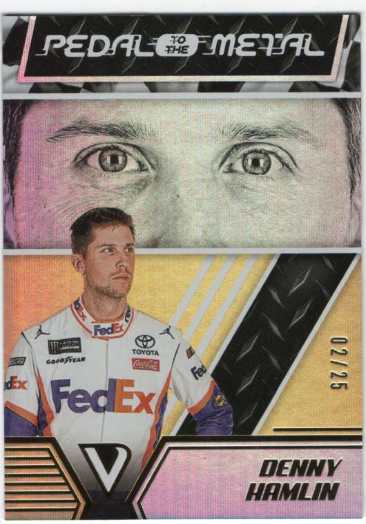 2019 Panini Victory Lane Pedal to the Metal Gold