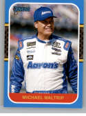 2020 Donruss Racing Carolina Blue #128 Michael Waltrip Aaron's/Michael Waltrip Racing/Toyota