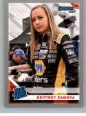 2020 Donruss Racing Silver #22 Brittney Zamora K&N Pro Series West
