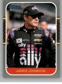 2020 Donruss Racing Silver #160 Jimmie Johnson Ally Financial/Hendrick Motorsports/Chevrolet
