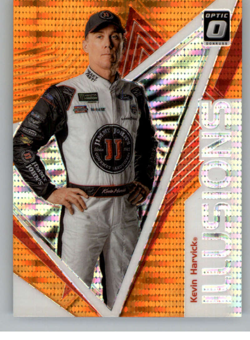 2020 Donruss  Optic Illusion Orange Pulsar
