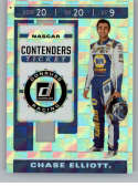 2020 Donruss Racing Contenders CHECKERS #6 Chase Elliott NAPA Auto Parts/Hendrick Motorsports/Chevrolet  Official NASCAR Trading Card made by Panini A