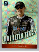 2020 Donruss Racing Dominators CHECKERS #9 Kevin Harvick Mobil 1/Stewart-Haas Racing/Ford  Official NASCAR Trading Card made by Panini America