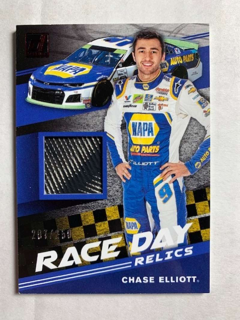 2020 Donruss  Race Day Relics Red