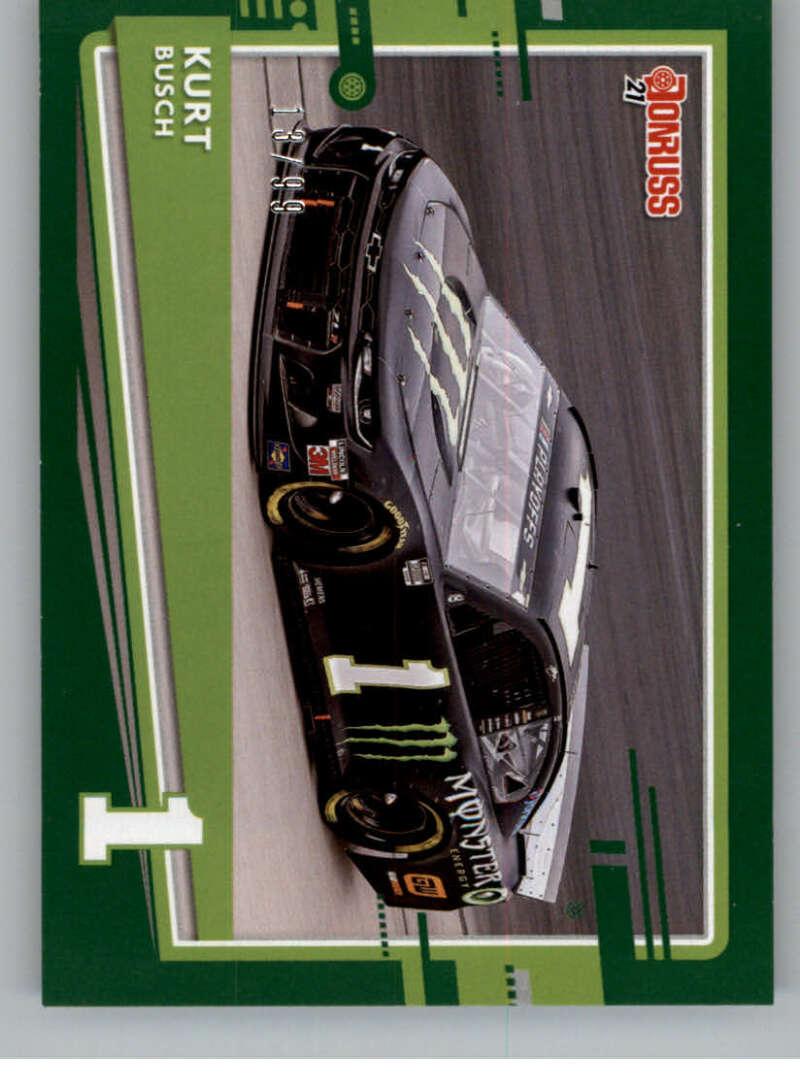 2021 Donruss  Cars Green