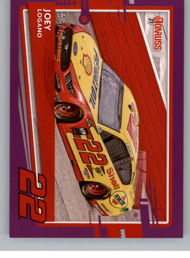 2021 Donruss  Cars Purple