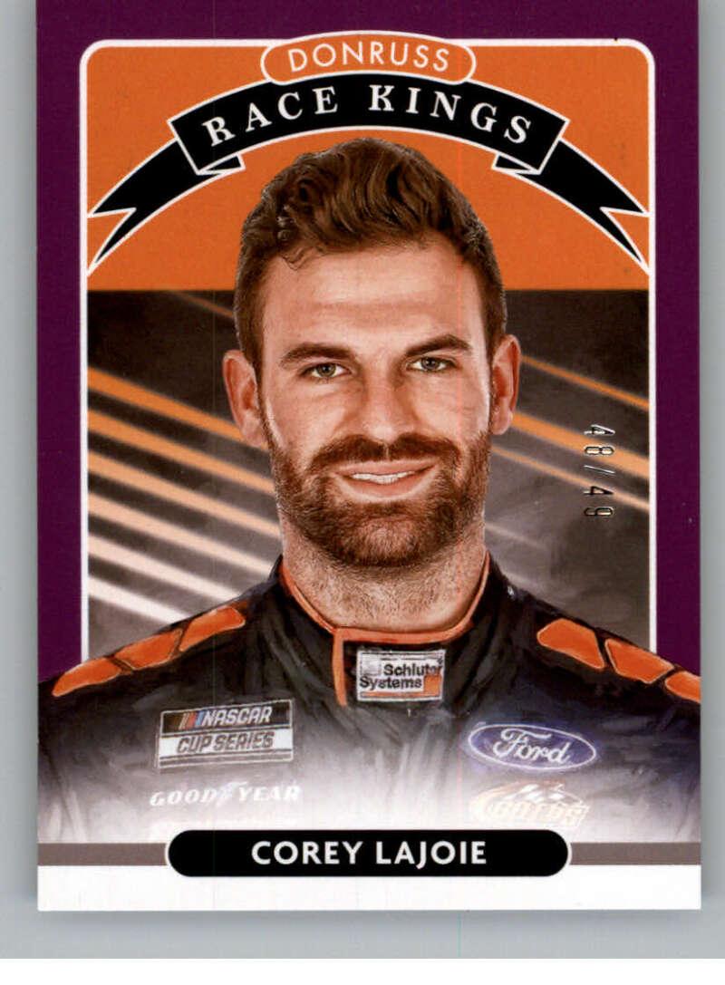 2021 Donruss  Race Kings Purple