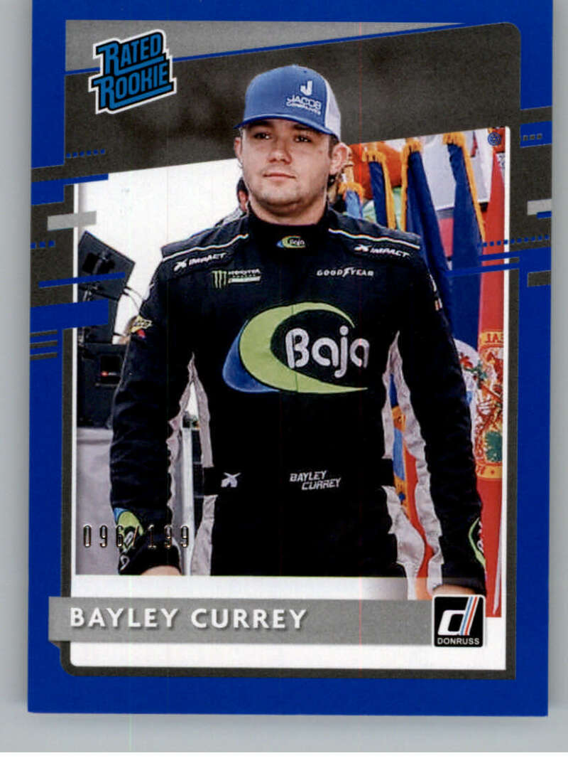 2021 Donruss  Rated Rookies Navy Blue