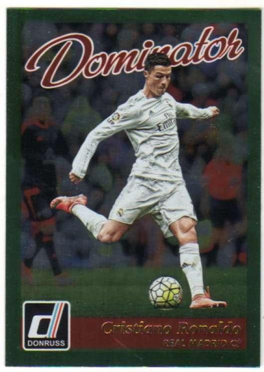 2016 Donruss Dominators #22 Cristiano Ronaldo NM-MT+ Real Madrid CF