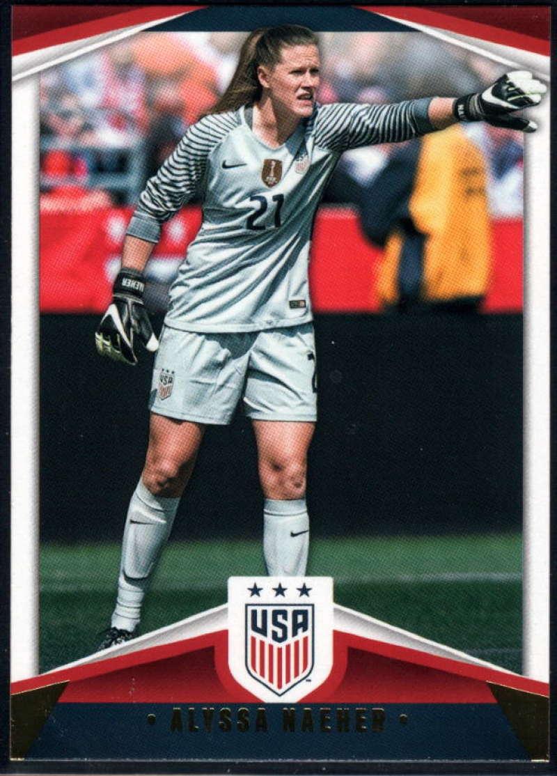 2016 Panini USA Soccer Soccer #3 Alyssa Naeher USA Official Team USA Trading Card