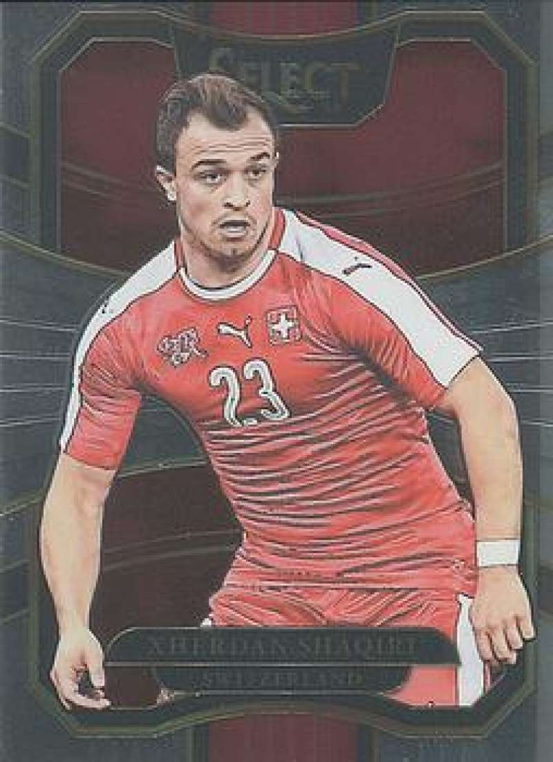 2017-18 Panini Select #26 Xherdan Shaqiri NM-MT Switzerland