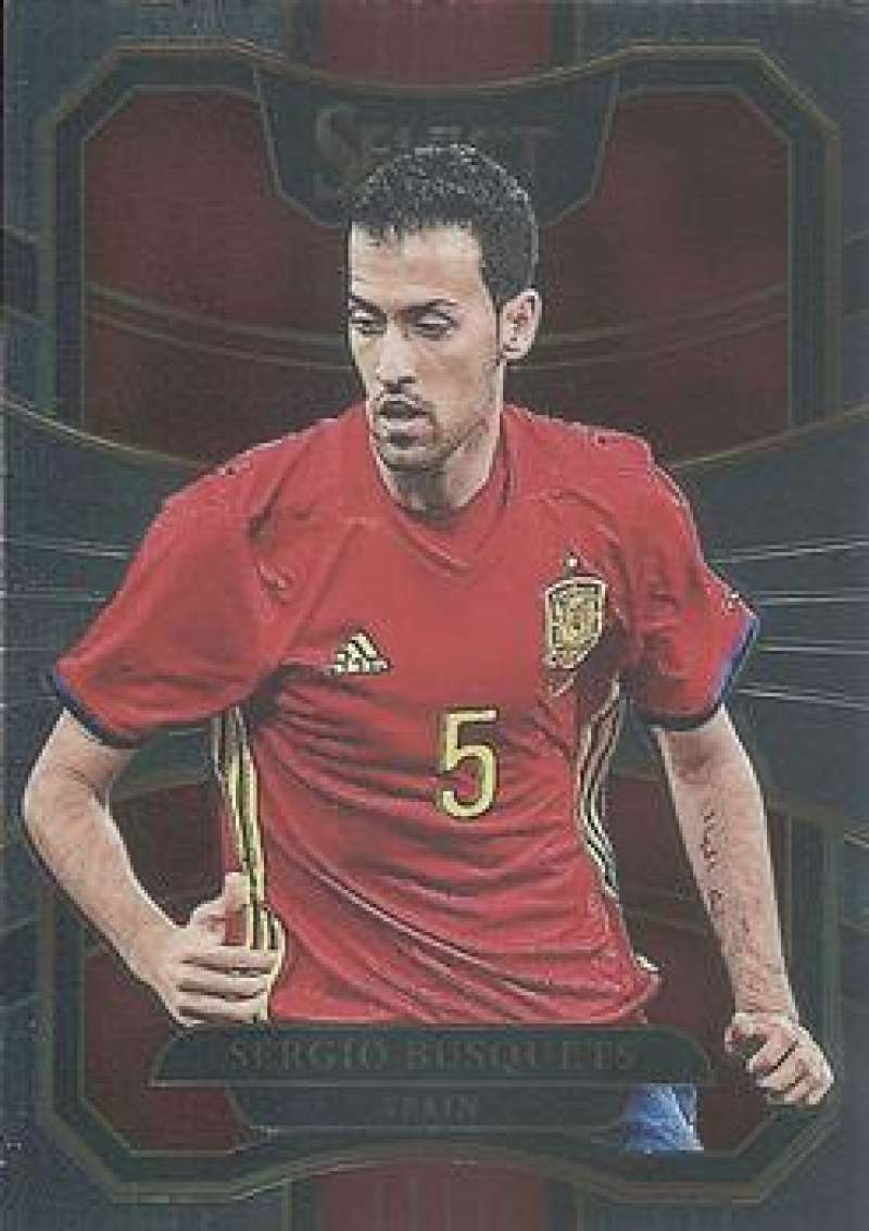 2017-18 Panini Select #32 Sergio Busquets NM-MT Spain