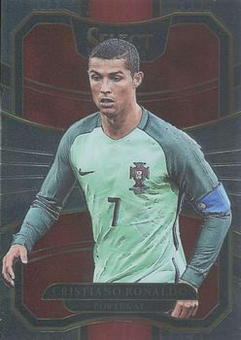 2017-18 Panini Select #33 Cristiano Ronaldo NM-MT Portugal