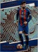 2017 Panini Revolution #186 Gerard Pique FC Barcelona