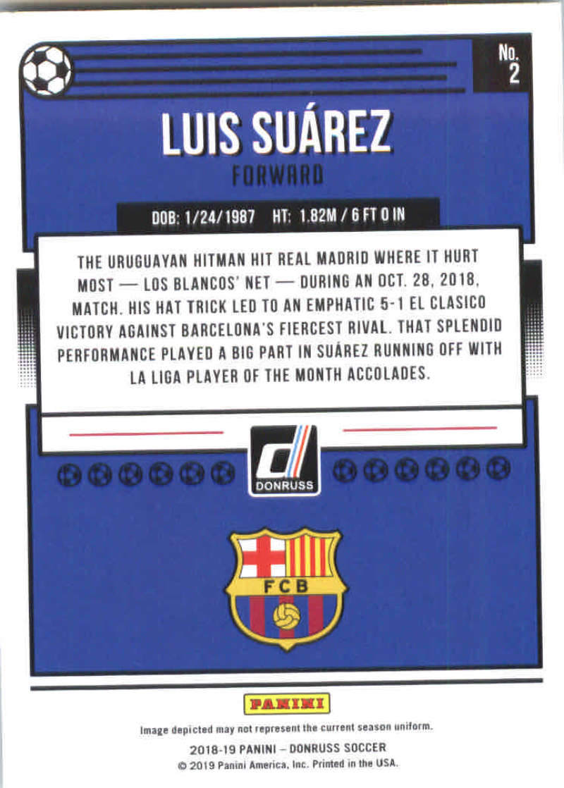 2018-19-Donruss-Soccer-Base-Singles-1-200-Pick-Your-Cards thumbnail 4