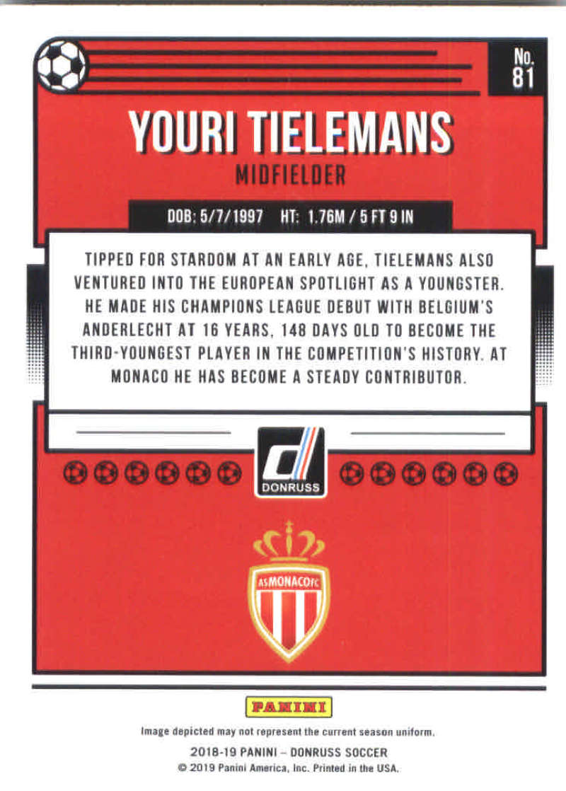 2018-19-Donruss-Soccer-Base-Singles-1-200-Pick-Your-Cards thumbnail 160