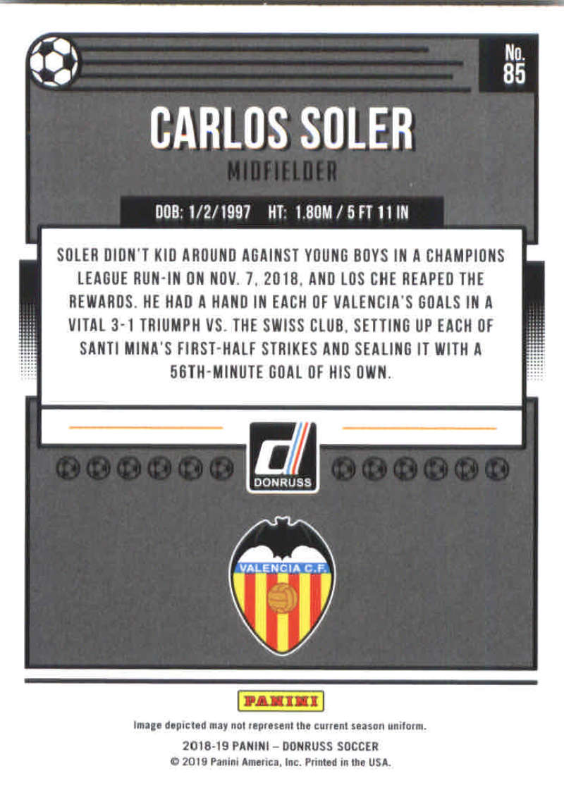 2018-19-Donruss-Soccer-Base-Singles-1-200-Pick-Your-Cards thumbnail 168