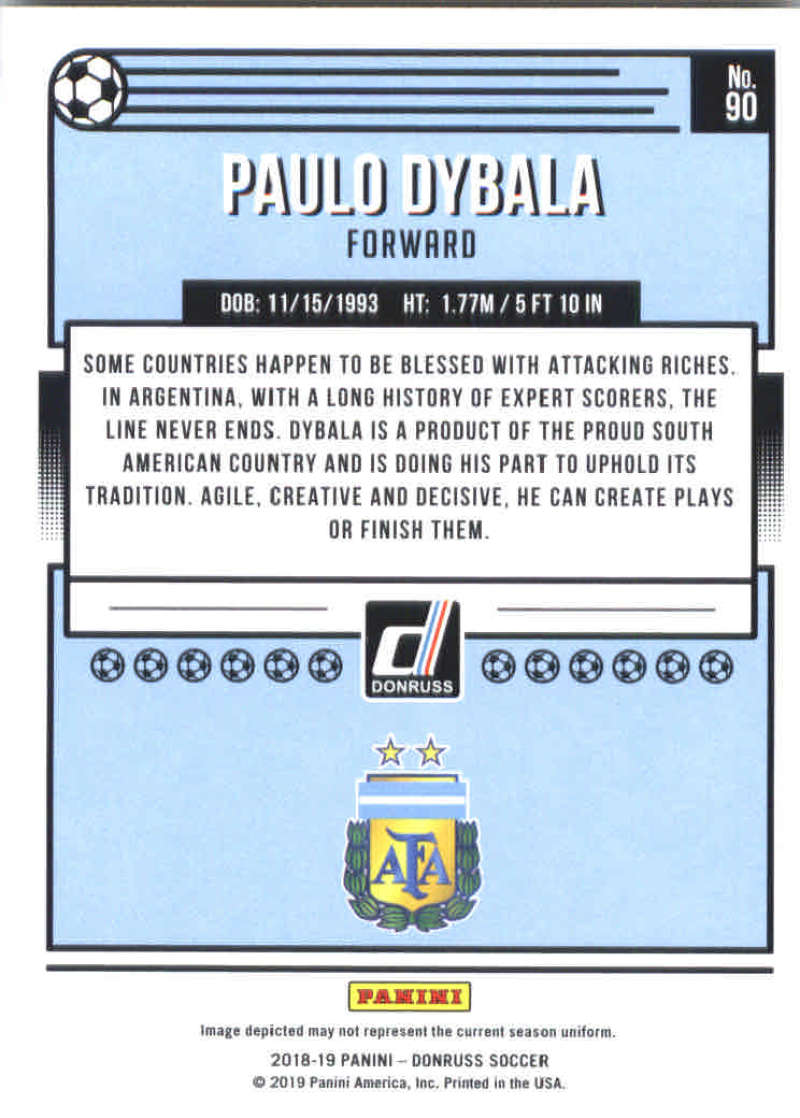 2018-19-Donruss-Soccer-Base-Singles-1-200-Pick-Your-Cards thumbnail 178