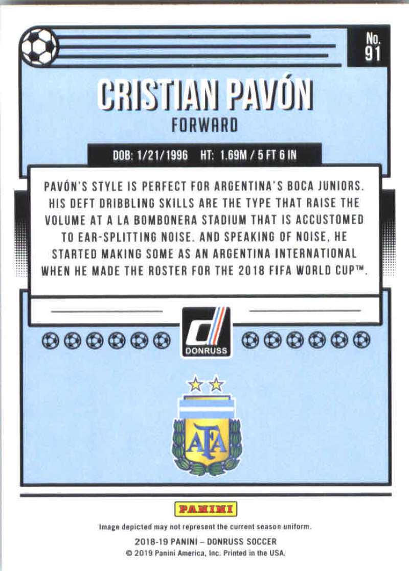 2018-19-Donruss-Soccer-Base-Singles-1-200-Pick-Your-Cards thumbnail 180