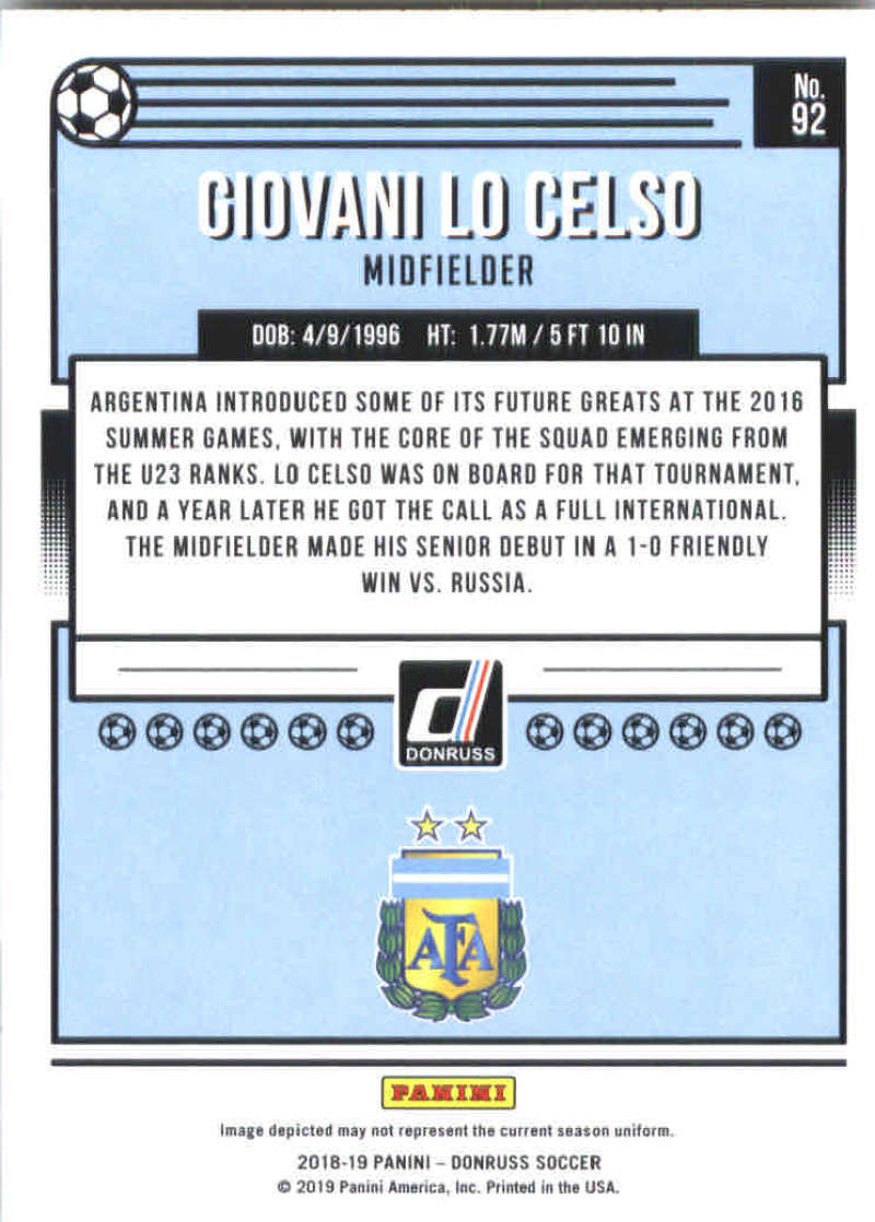 2018-19-Donruss-Soccer-Base-Singles-1-200-Pick-Your-Cards thumbnail 182