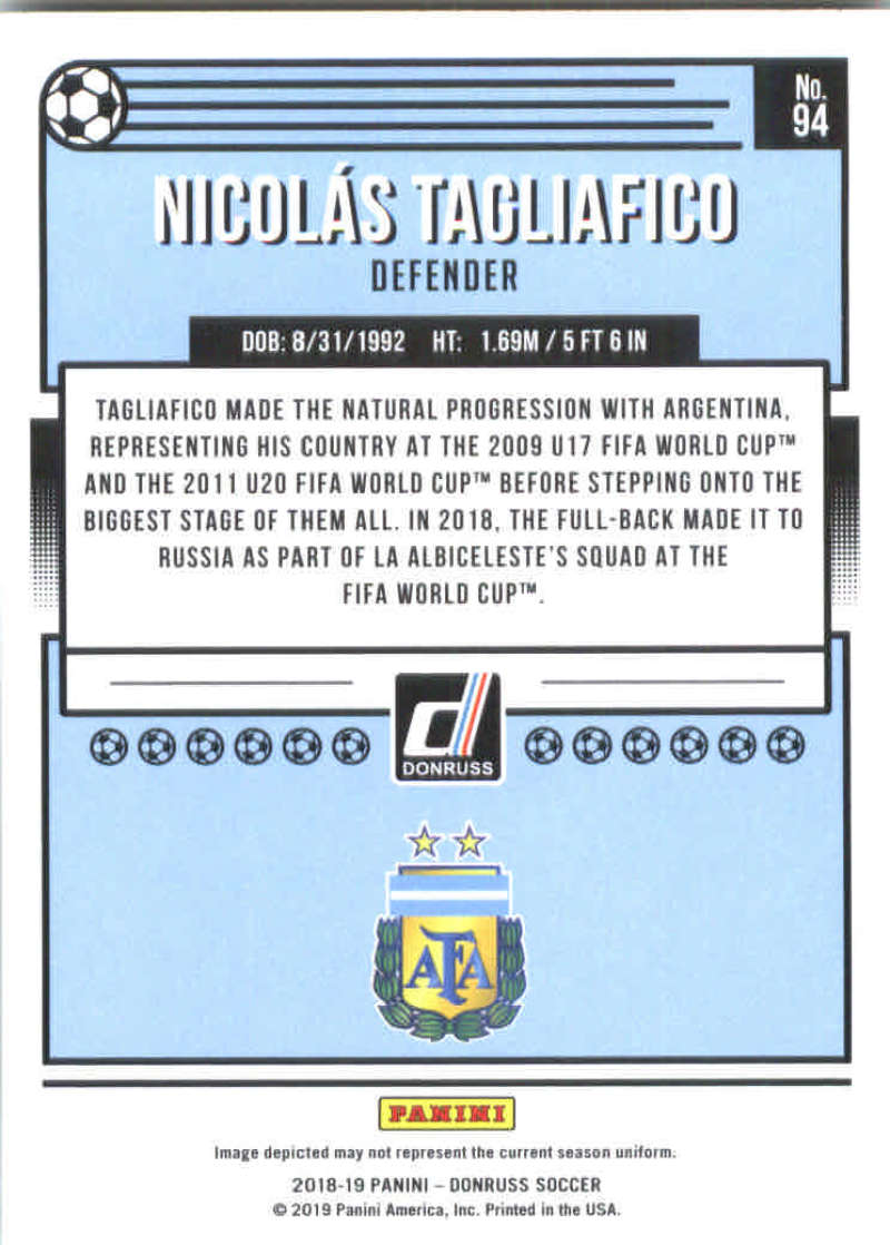 2018-19-Donruss-Soccer-Base-Singles-1-200-Pick-Your-Cards thumbnail 186