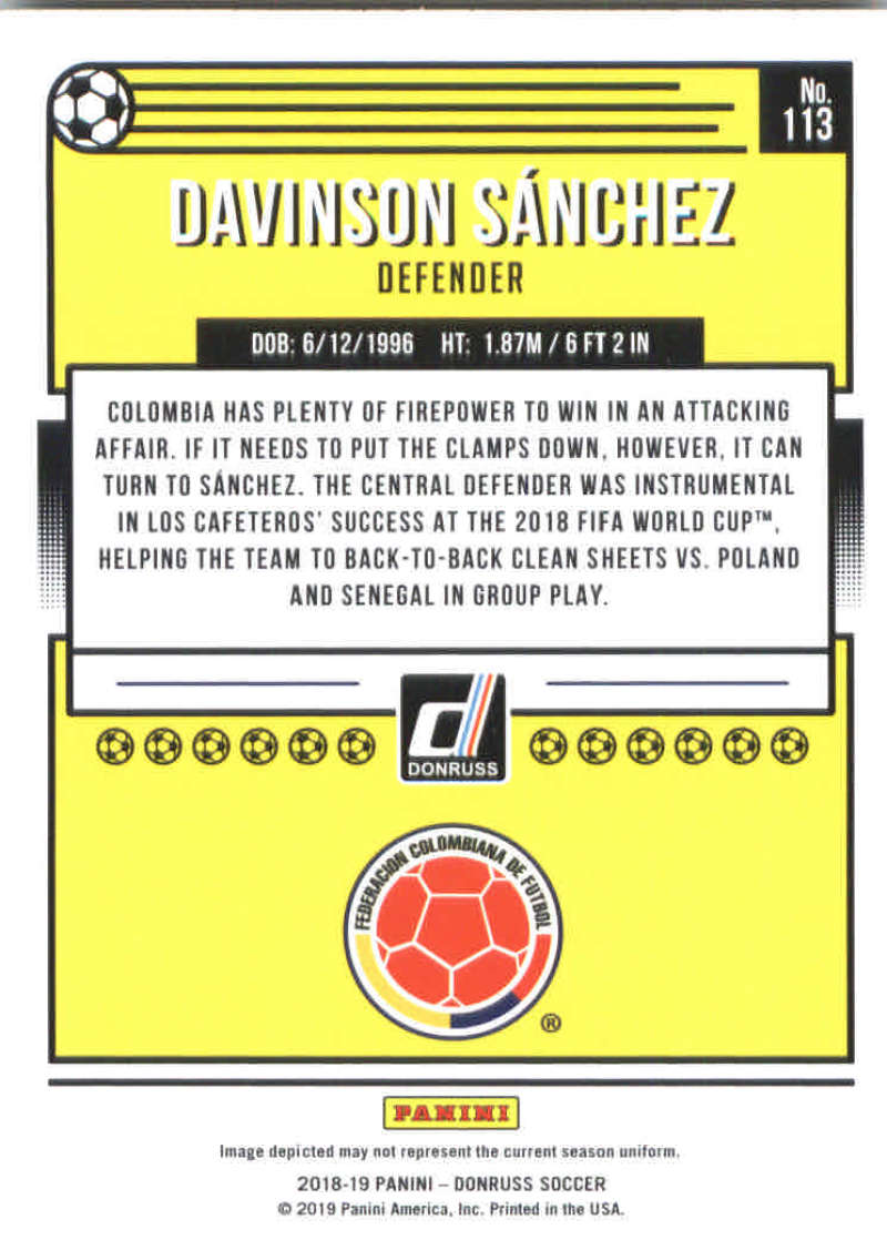 2018-19-Donruss-Soccer-Base-Singles-1-200-Pick-Your-Cards thumbnail 224