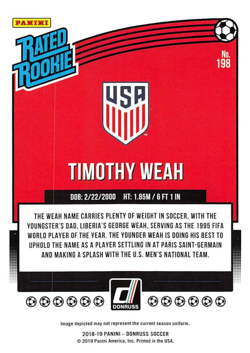 2018-19-Donruss-Soccer-Base-Singles-1-200-Pick-Your-Cards thumbnail 388