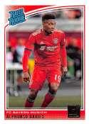 2018-19 Donruss #176 Alphonso Davies Rated Rookie NM-MT+ FC Bayern Munich