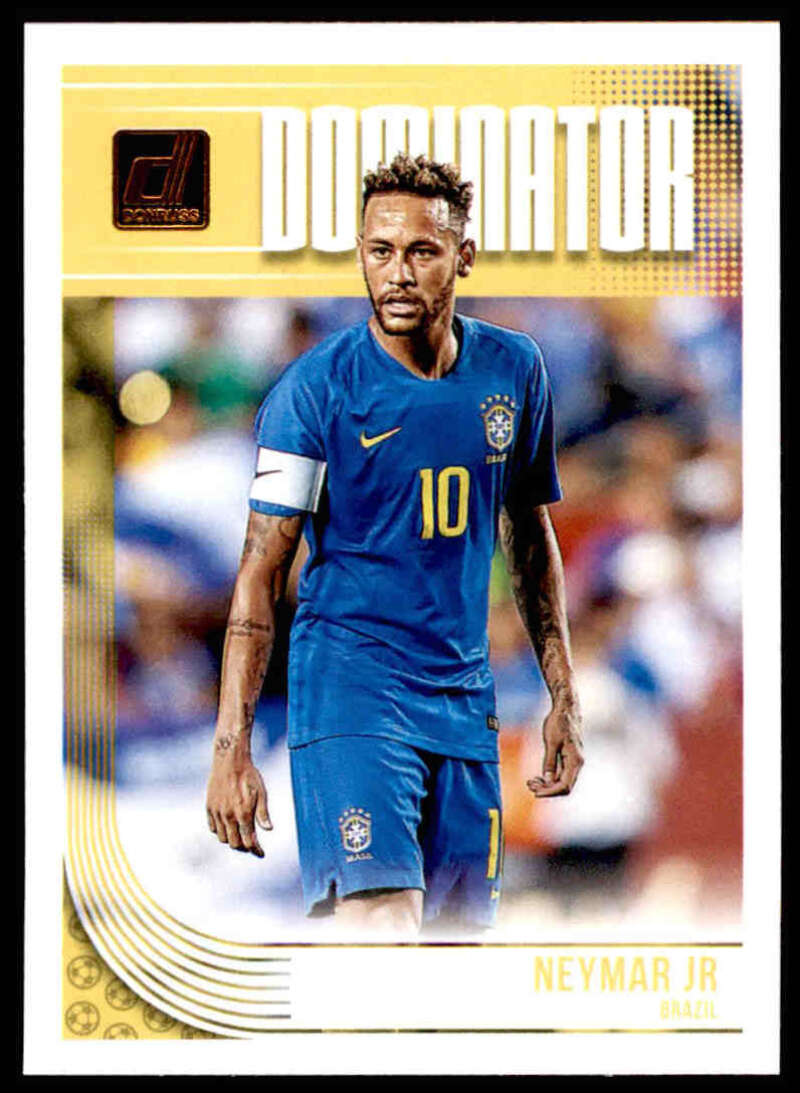 2018-19 Donruss Dominators #3 Neymar Jr NM-MT+ Brazil