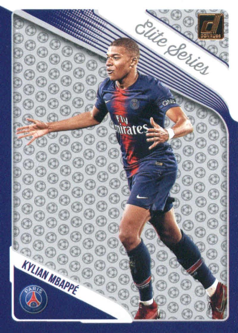 2018-19 Donruss Elite Series #15 Kylian Mbappe NM-MT+ Paris Saint-Germain