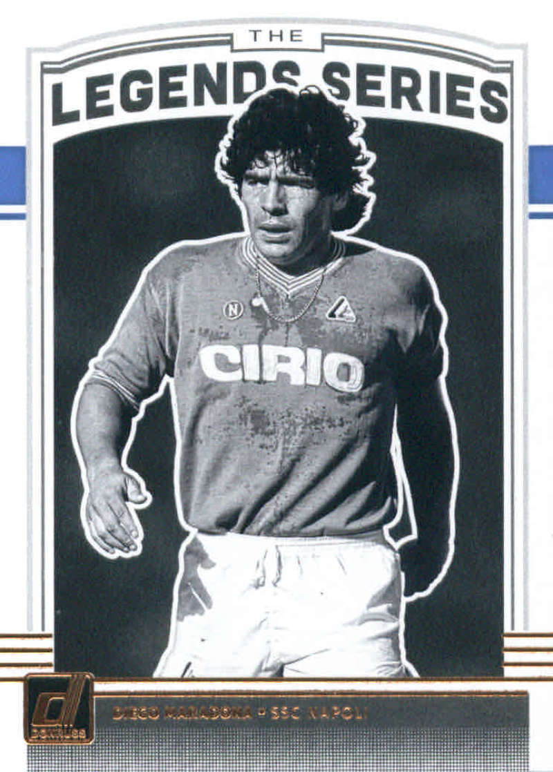 2018-19 Donruss Legends Series #4 Diego Maradona NM-MT+ SSC Napoli