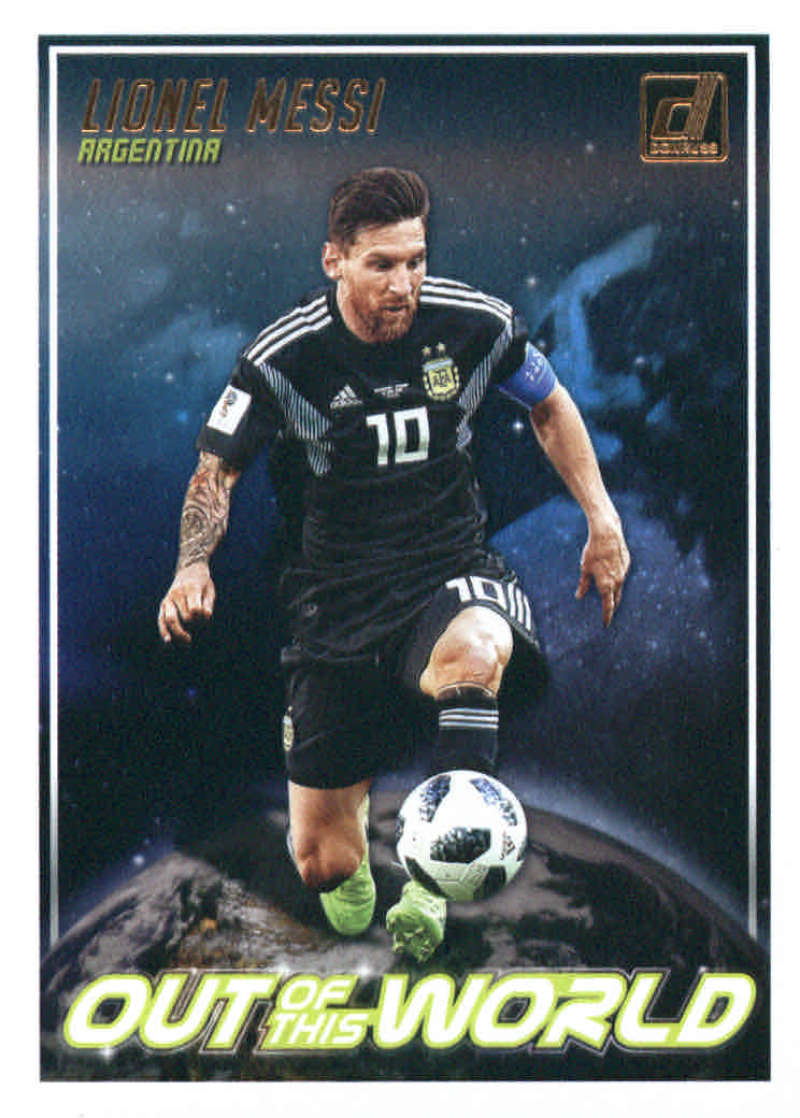 2018-19 Donruss Out of this World #6 Lionel Messi NM-MT+ Argentina