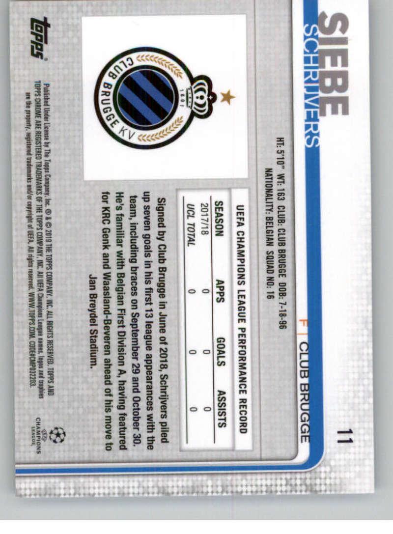 2018-19-Topps-Chrome-UEFA-Champions-Soccer-Base-Set-Cards-Choose-039-s-1-100 thumbnail 15