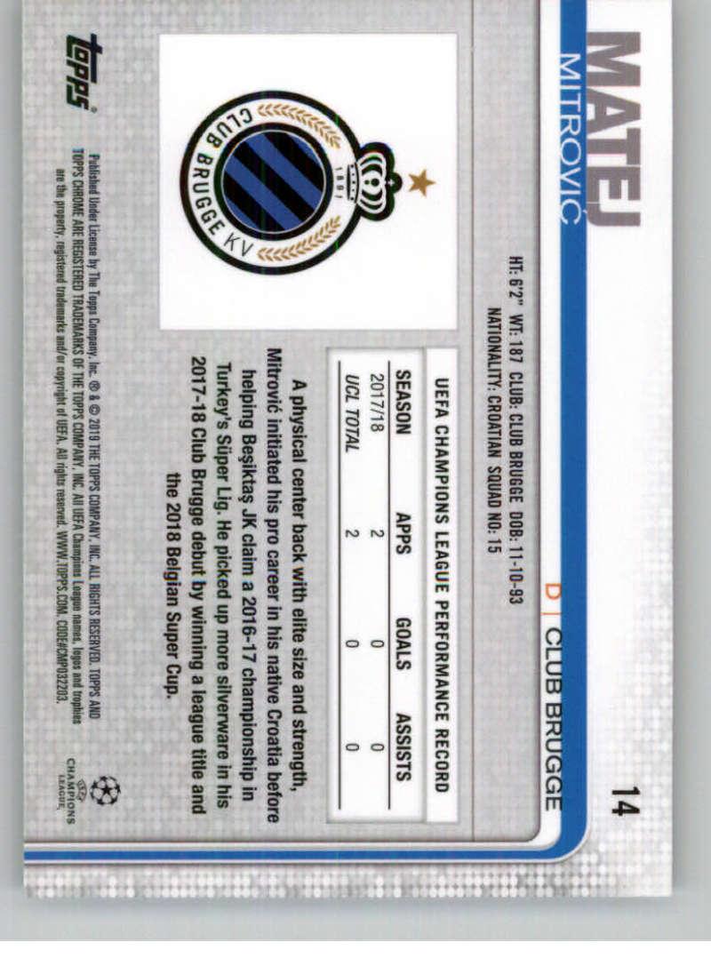 2018-19-Topps-Chrome-UEFA-Champions-Soccer-Base-Set-Cards-Choose-039-s-1-100 thumbnail 21