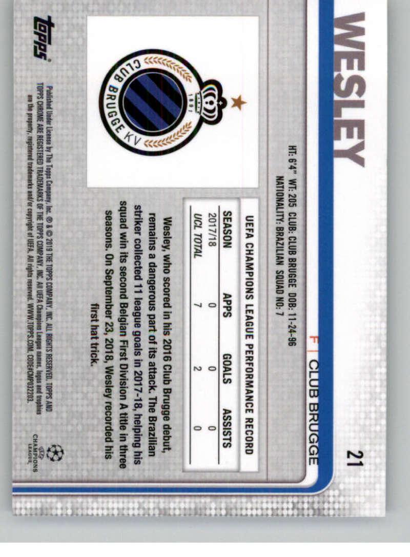 2018-19-Topps-Chrome-UEFA-Champions-Soccer-Base-Set-Cards-Choose-039-s-1-100 thumbnail 35